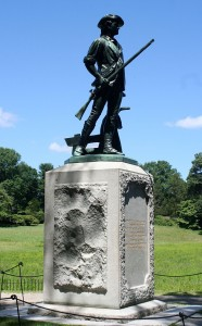 Minuteman Statue at the Old North Bridge