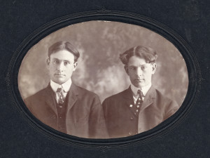 William Michael Burke (left) and John Andrew Burke (right)