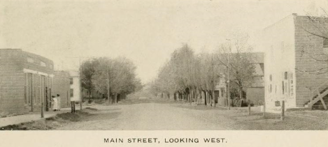 Sumner's Main Street in 1913