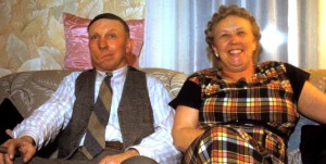 Otto Grant and Ruth (Shong) Grant in 1950